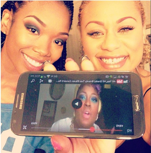 Brandy-Norwood-and-Beat-Face-Honey