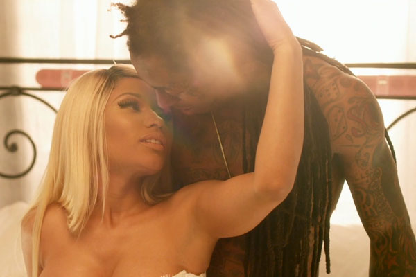 Nicki minaj and lil wayne sex scene